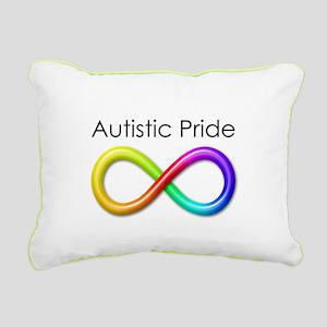 Autistic Pride Rectangular Canvas Pillow