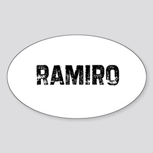 Ramiro Oval Sticker