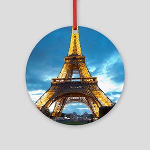 J'aime Paris Round Ornament