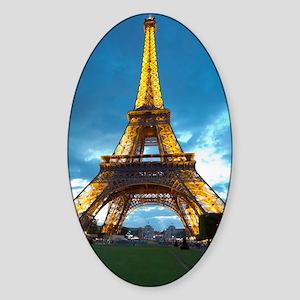 J'aime Paris Sticker (Oval)