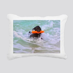 Halle Out of the Ocean Rectangular Canvas Pillow