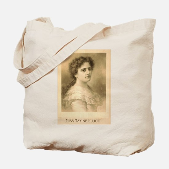 Miss Maxine Elliott - Strobridge - 1889 Tote Bag