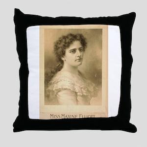 Miss Maxine Elliott - Strobridge - 1889 Throw Pill