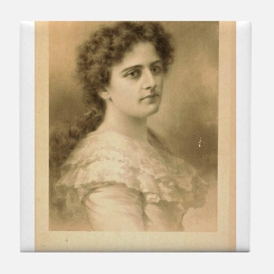 Miss Maxine Elliott - Strobridge - 1889 Tile Coast