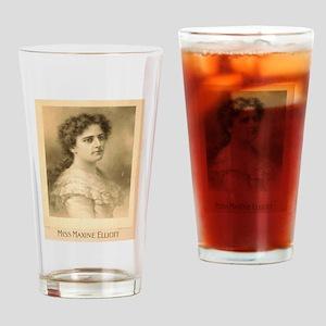 Miss Maxine Elliott - Strobridge - 1889 Drinking G