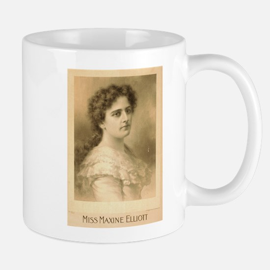 Miss Maxine Elliott - Strobridge - 1889 Mugs