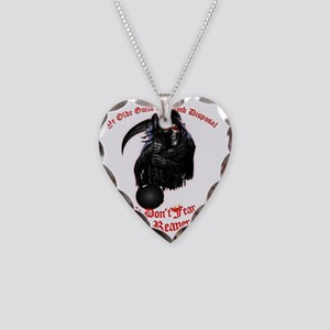 Bomb Disposal Guild Necklace Heart Charm