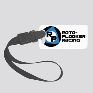 Roto-Plooker Racing Wide Logo Small Luggage Tag