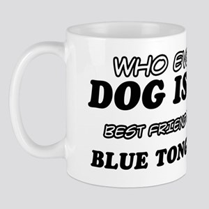 Blue tongued Pet Designs Mug