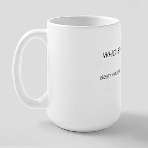 Axolotl Pet Designs Large Mug
