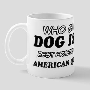 American quarter horse pet Design Mug