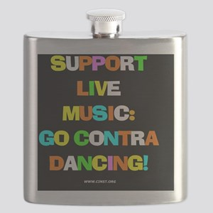 Contra Dance Flask