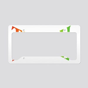 Teache Peace, Autism Awarenes License Plate Holder