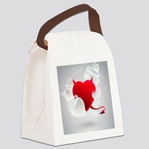Corazon Canvas Lunch Bag