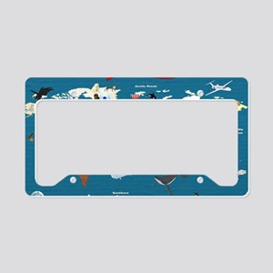 World Map For Kids - Lets Exp License Plate Holder