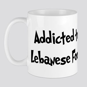 Addicted to Lebanese Food Mug