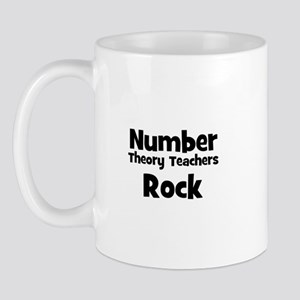 Number Theory Teachers Rock Mug