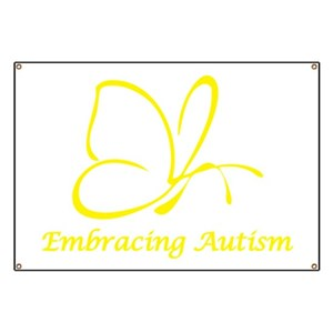 autism kids banners cafepress