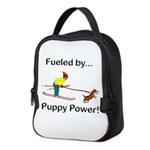 Fueled by Puppy Power Neoprene Lunch Bag
