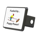 Fueled by Puppy Power Rectangular Hitch Cover