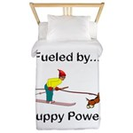Fueled by Puppy Power Twin Duvet
