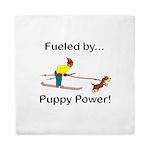 Fueled by Puppy Power Queen Duvet