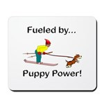 Fueled by Puppy Power Mousepad
