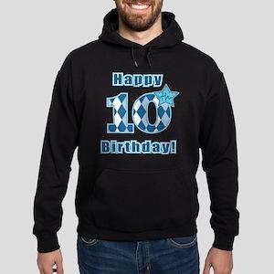 Happy 10th Birthday! Hoodie (dark)