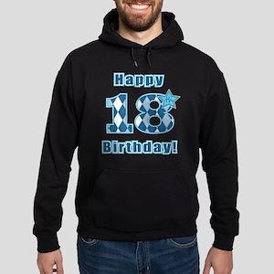 Happy 18th Birthday! Hoodie (dark)
