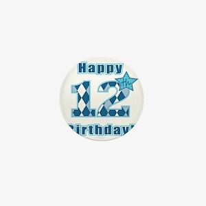 Happy 12th Birthday! Mini Button
