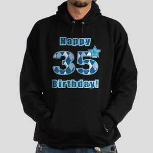Happy 35th Birthday! Hoodie (dark)