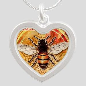 VenusBee(raw) Silver Heart Necklace