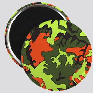Bright Colored Camouflage Magnet