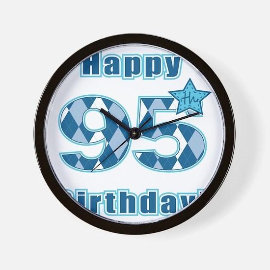 Happy 95th Birthday! Wall Clock