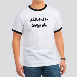 Addicted to Ginger Ale Ringer T