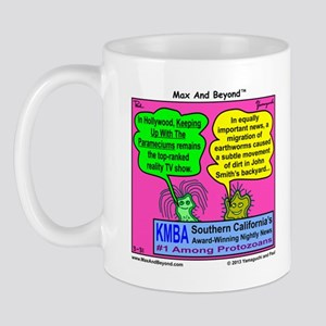 Parameciums Cartoon Mug