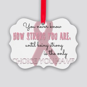How Strong You Are Picture Ornament