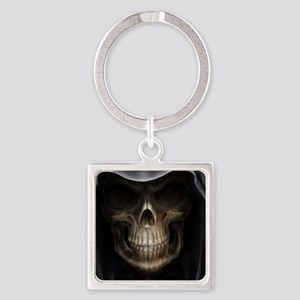grim reaper Square Keychain