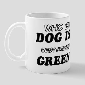 Green Anole Designs Mug