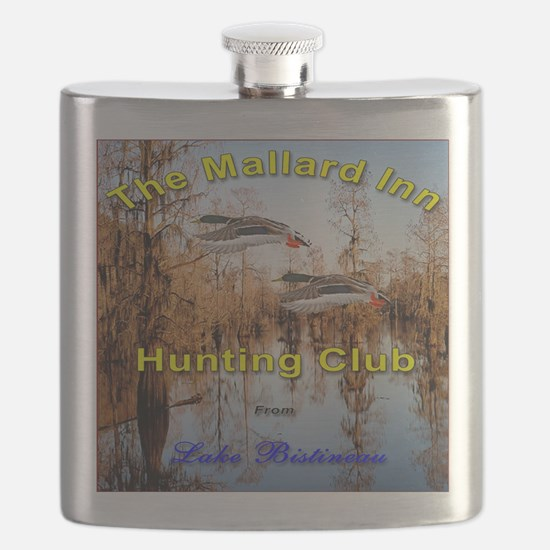 10x10 Square Flask