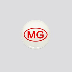 MG Oval (Red) Mini Button