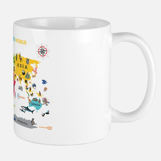Gifts for interactive world map for kids unique interactive interactive world map for kids white a mug gumiabroncs Choice Image