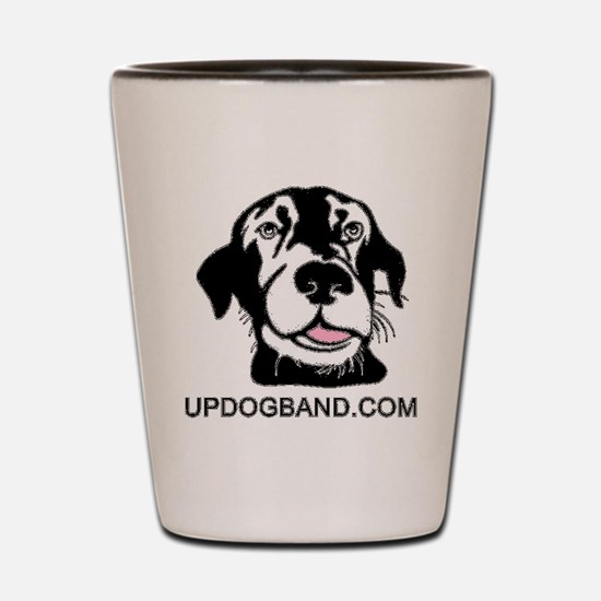 Black Dog w/URL Shot Glass