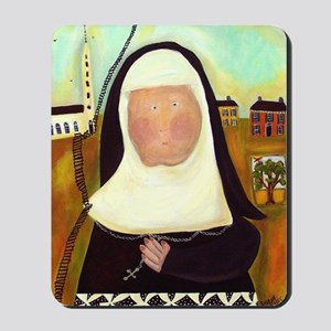 Nuns Stairway to Heaven Mousepad