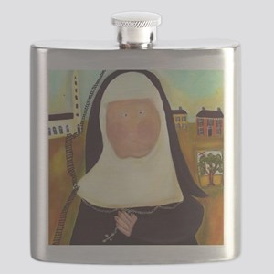 Nuns Stairway to Heaven Flask