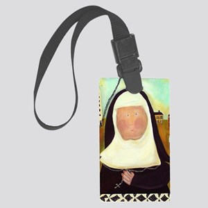 Nuns Stairway to Heaven Large Luggage Tag