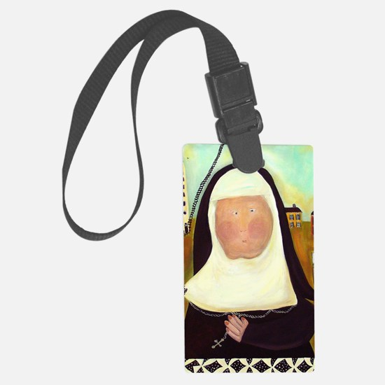 Nuns Stairway to Heaven Luggage Tag