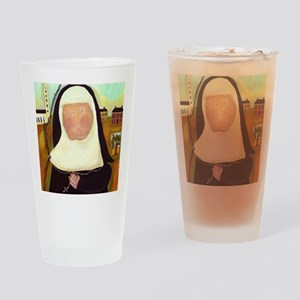 Nuns Stairway to Heaven Drinking Glass