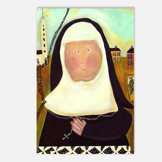 Nuns Stairway to Heaven Postcards (Package of 8)