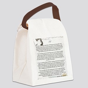 Graduation Baccalaureate IF by Ru Canvas Lunch Bag